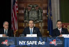 8 rounds in a 10 round magazine;having magazine more than 10 round capacity in New York will be defined as criminal possession of a weapon in the 3rd degree--more severe than being a child molester