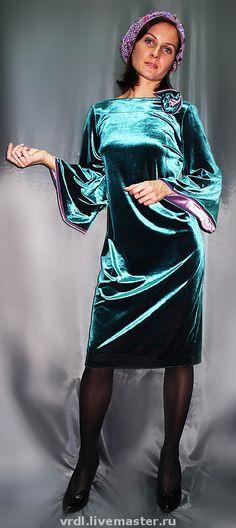 Купить VACANZE ROMANE-536 - бархатное платье, Авторский дизайн, авторское пальто, платье коктейльное