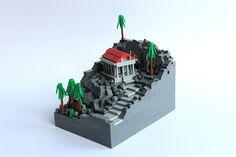#LEGO #Microscale Temple.
