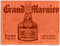 Original-Werbung/Inserat/ Anzeige 1913  : GRAND MARNIER ca. 190 x 130 mm