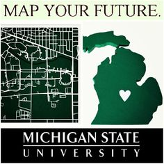 Pretty simple...no better place to MAP IT!  #msu #michiganstate #spartans #spartanforlife #gogreen #puremichigan #Padgram