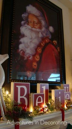 Adventures in Decorating: 2011 Christmas mantel