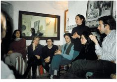1995 Mati cantando en una fiesta