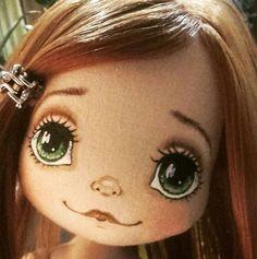 Doll Eyes, Doll Face, Doll Painting, Fabric Toys, Bear Doll, Doodle Sketch, Sewing Dolls, Doll Tutorial, Waldorf Dolls