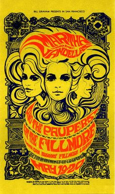 fillmore posters 1960s - Google Search
