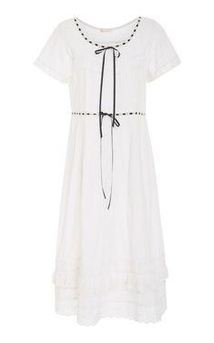 Madeline Cotton Maxi Dress by LoveShackFancy | Moda Operandi