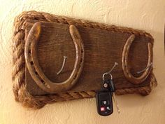 Handmade Western Inspired Keychain Holder. $60.00, via Etsy.