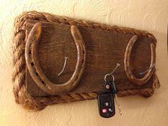 Handmade Western Inspired Keychain Holder. $60.00, via Etsy.