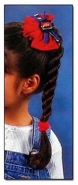 How to Braid! Fishtail, French, Rope braid and more... pictorial step by step for your little girl's hair