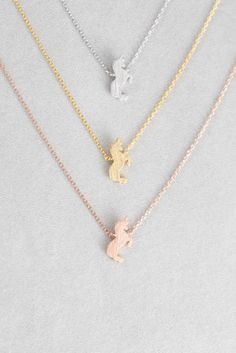 Unicorn Charm Life is Magical Necklace Gold Boxed. Dogeared Make a wish reminder Gold dipped Unicorn charm with gold filled chain necklace with Unicorn Jewelry, Unicorn Necklace, Bird Necklace, Cute Jewelry, Silver Jewelry, Jewelry Accessories, Jewelry Necklaces, Silver Ring, Silver Earrings