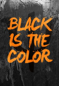 """In the camps, they were classified by colors such as green, blue, red, orange and yellow. So when they reach what is suppost to be their """"safe haven"""" they are pleaseantly surprised by the motto and color scheme of BLACK"""