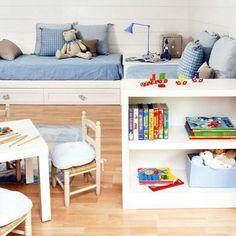 Dormitorio para niños   Ahora también mamá