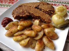 Paprikás krumpli: Aranybarna bundában sült fokhagymás hekk