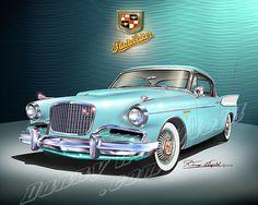 1957 Studebaker Golden Hawk (Turquoise)