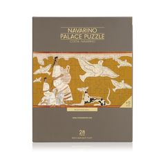 Navarino Icons Palace Puzzle This large format 28 piece puzzle is reminiscent of Mycenaean wall paintings dating to 1,200 BC.