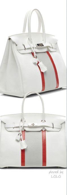 Hermes 35Cm White Clemence Club Birkin
