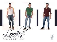 Três lindos looks jeans <3