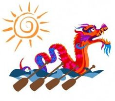 Colts paddle to another win in the Dragon Boat Race - Dumfries Saints Rugby Club Hobbies And Crafts, Arts And Crafts, Baby Shower Treats, Dragon Boat Festival, Paddle Boat, Boat Painting, China Art, Tigger, Boat Cake