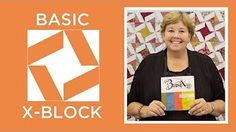 Make the Easy Tiny Wonky Stars Quilt Block - Quilt Snips Mini Tutorial - YouTube