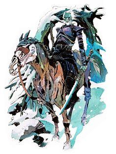 Game of Thrones - White Walker by Matías Bergara * High Fantasy, Fantasy Art, Art Game Of Thrones, Walker Art, Bd Comics, Fire Art, Fanart, Art Et Illustration, Cultura Pop