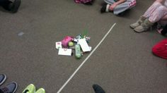 To practice direct object pronouns, I used the game my Spanish teacher in 9th grade used to practice DOPs. A variety of objects were placed in the center and students given numbers within two teams...