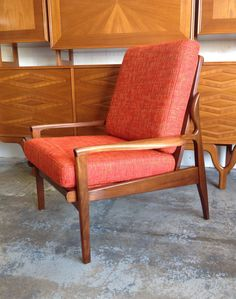 1961 Fler Narvik Armchair by Fred Lowen. In store at DESIGNSMITH. 3 Surfers Avenue Mermaid Beach Qld Aus.