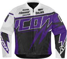 Hooligan Spaztyk Street Jersey - Purple | Products | Ride Icon