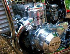GT-750 Suzuki Gt 750, Suzuki Bikes, Suzuki Motorcycle, Motorcycle Engine, Kettle, Motorbikes, Toyota, Motorcycles, Engineering