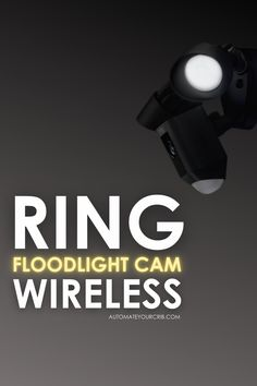 The Ring is one of the most widely used smart home security systems in the US. With Ring's impressive line of smart camera products, you may have come across their Floodlight Cam which is meant to be installed outside of your home. You probably wondering if it is wireless? #Ring #floodlightcam #securitycam #smarthome #alexa Smart Home Security, Home Security Systems, Security Camera, Meant To Be, Ring, Products, Backup Camera, Rings, Spy Cam