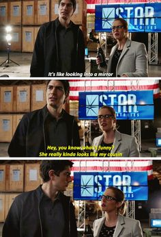 """Felicity Smoak in #LegendsofTomorrow #Season2 #2x07 - Crossover Part 3! -- """"You know what's funny?"""""""