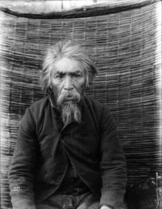 Puget Sound Salish man : General Taylor, ca. 1900, UW Library American Indians of the Pacific Northwest Collection