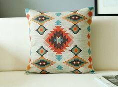 Boho Aztec Geometric Pattern Decorative от HopIntoTheRabbitHole