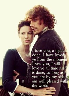 Claire Fraser and Jamie Fraser