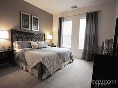 Pretty apartment bedroom