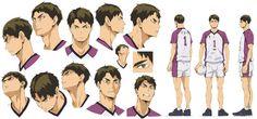 Haikyuu Characters, Anime Characters, Character Sheet, Character Design, Haikyuu Season 3, Anime Guys, Manga Anime, 2014 Anime, Upcoming Anime