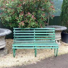 Reclaimed garden bench for sale on SalvoWEB from V&V Reclamation in Hertfordshire [Salvo code