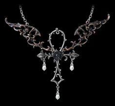 Alchemy Gothic Halskette - Wings of Eternity