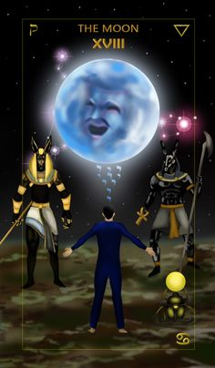 The Moon Tarot Card Meanings and Description. The Moon is attributed to deception. In our subconscious we are at war with ourselves. The Moon Tarot Card, Tarot Card Spreads, Online Tarot, I Love You Baby, Tarot Card Meanings, Good Night Sweet Dreams, Astral Projection, Angels Among Us, Funny Drawings