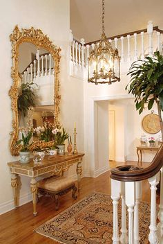 Formal Traditional Foyer by Timothy Corrigan on HomePortfolio