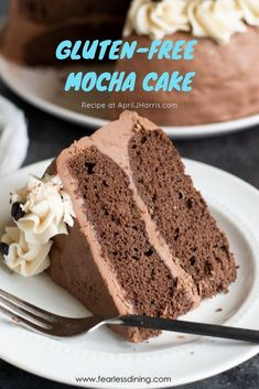 You will love my moist & chocolatey Gluten Free Mocha Cake recipe. Chocolate, co… You will love my moist & chocolatey Gluten Free Mocha Cake recipe. Chocolate, coffee & a bit of spice gives it a unque flavour that is hard to resist! Gluten Free Cakes, Gluten Free Baking, Gluten Free Desserts, Gluten Free Recipes, Gluten Free Coffee Cake, Cupcakes, Cupcake Cakes, Köstliche Desserts, Delicious Desserts