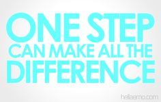 One step can make all the difference.