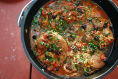 Campfire Challenge: Osso Buco with Beer, Olives, and Gremolata | Family SpiceFamily Spice