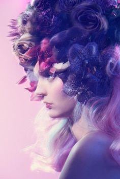 #purple #entranced #stunning #editorial
