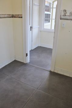 concrete floor refin
