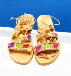 Summer Sandals, Women's Sandals, Summer Shoes, Leather Sandals, Greek Fashion, Oia Santorini, Ancient Greek Sandals, Boho Chic, Fashion Shoes