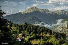 Nerytha, Agrafa mountains