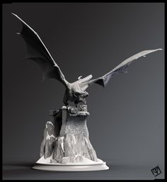 ArtStation - Dragon, pablo vicentin