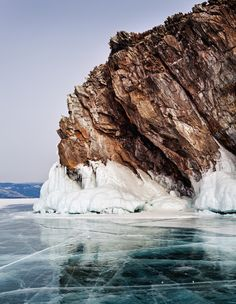 Lake Baikal Russia: With an impressive age of 25 million years, Lake Baikal in southeastern Siberia is the oldest lake in the world; with depths reaching nearly 5,400 feet, it is also the deepest lake on the planet. In fact, it contains 20 percent of Earth's total unfrozen freshwater reserve.