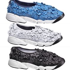 Just love these Dior Fusion Sneakers from Cruise2015
