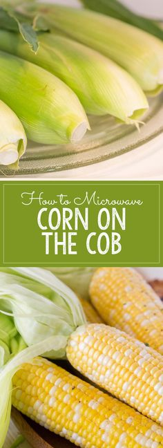 I love this method because it's so fast and the silk slides off the kernels much more easily!
